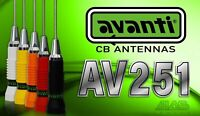 AVANTI 251,ANTENNA CB AV251 + CAVO AVSPECIAL BY M&P