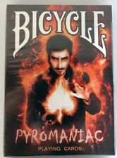 Bicycle Pyromaniac playing cards,  in Folie