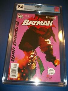 Batman #643 Jock Joker Cover Key CGC 9.8 NM/M Gem War Crimes Black Mask 1st Pr!