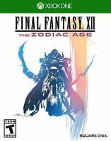 Final Fantasy XII 12 The Zodiac Age - Xbox One