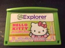 LeapFrog Game Cartridge HELLO KITTY For LeapPad, Leapster Explorer