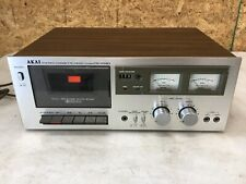 Vintage Akai Stereo Cassette Deck CS-703D For parts or repair Not Working