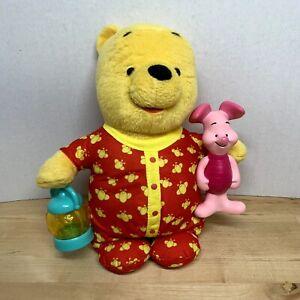 """2007 Fisher Price Mattel Disney Talking Pooh Bear 11"""""""