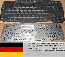 TASTATUR QWERTZ DEUTSCH ACER TM270 270 99.N3482.70G PK13BY310E0 Schwarz