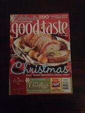 Australian Good Taste Magazine Dec 2008 Christmas Issue