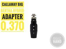 Adapter sleeve 0.370 for Callaway 2019 Big Bertha Hybrid Rh