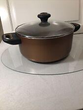 New Farberware copper nonstick 5 qt dutch oven with lid