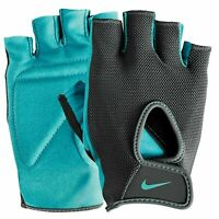 NIKE Short Finger Training Gloves Mens Women's Gym Crossfit Workout Fitness NEW