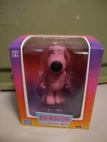 The Loyal Subjects Fox Animation Family Guy 1/96 Pink Brian Chase Figure NEW