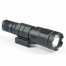 800 Lumen LED Tactical Flashlight Super Bright With Weaver Picatinny Mount