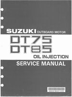 93-00 Suzuki DT75 DT85 2-Stroke Outboard Motor Service Repair Manual CD - DT 75