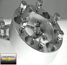 2 Pc CHEVY 1500 6 Lug Wheel Spacers Adapters 1.50 Inch # AP-6550C1415
