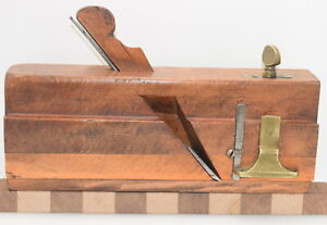 Vintage Greenfield Tool Co. Boxed Moving Filletster Plane (INV K919)