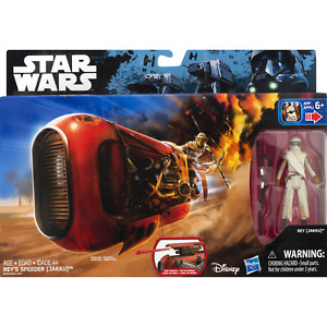 Star Wars: The Force Awakens Rey's Speeder (Jakku) Rey Disney Hasbro B9595 2016