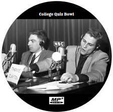 COLLEGE QUIZ BOWL (82 SHOWS) OLD TIME RADIO MP3 2 CD'S