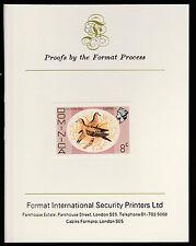 Dominica (410) 1975 Zenaida Dove 8c imperf on Format International PROOF  CARD
