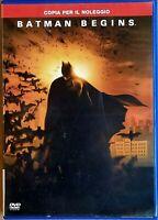 BATMAN BEGINS (2005) un film di Christopher Nolan - DVD EX NOLEGGIO - WARNER
