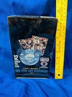 1991 NFL Pro Set Platinum Series 1 Football Box Sealed  36 Packs Brett Favre