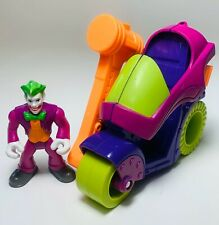 Imaginext DC Super Friends JOKER & HAMMER CYCLE vehicle