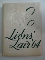 1964 Roselle Catholic High School New Jersey YEARBOOK Annual Lions' Lair
