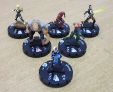 DC Heroclix Teen Titans Ravagers Fast Forces set of 6 clix with cards