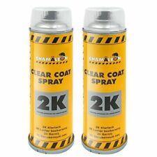 Klarlack HS 2 x 500ml 2K Spray Sprühlack Hochglänzend Premium Lack Chamäleon