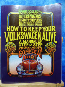 How To Keep Your Volkswagen Alive PB Book Manual by John Muir 19th Edition 2001