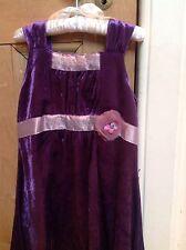 Lego Wear  Dress, Age 4 ,  Purple velvet- Immaculate Only Worn Twice!