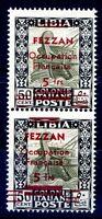 FEZZAN  1943 -  OCCUPAZIONE FRANCESE N° 7   nuovo  ** VARIETA' CERT.