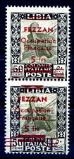 Fezzan 1943 - Occupation French N°7 New Varieties' Cert