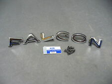 62 63 Ford Falcon trunk letters tailgate trunk panel