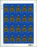 Thailand 2015 Amulett Luang Pho Ngern Mönch Wat Bang Khlan 3536 B Bogen MNH