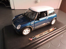 Die Cast Burago 1:24 Mini Cooper - No Polistil No Norev No Vitesse No Whitebox