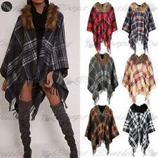 Poncho da donna in lana