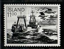 Photo Essay, Iceland Sc575 Fishing Industry, Boat, Ship, Bird.