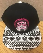 6fa00956717 Star Wars Pink Stormtrooper Hat Native American Arizona Style Snapback Cap