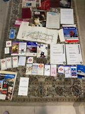 JOB LOT OF LONDON UNDERGROUND TIMETABLES RULEBOOKS + OTHER ITEMS (TUBE8)