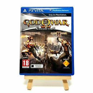 God Of War Collection - Reproduction Box Only NO Game - PS Vita Cover Art & Case