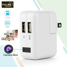 USB Wall Charger with HD 1080P DVR Recorder Camera Motion Detection Hidden Cam