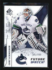 CORY SCHNEIDER  2008/09 08/09 SP AUTHENTIC FUTURE WATCH ROOKIE #201/999 AB6029