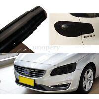 40cm x 120cm Dark Smoke Black PVC Tint Film Headlight Tail light Car Vinyl Wrap