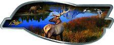 "Elk Wildlife Decal 13"" x 5"