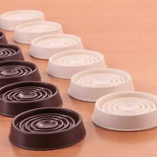8 x Thick Rubber ANTI SLIDE CASTOR CUP Wheel Surround Base/Leg/Feet/Stopper/Grip