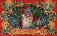 A Merry Christmas Design Copyright 1912 by Heymann Divided Back Vintage Postcard