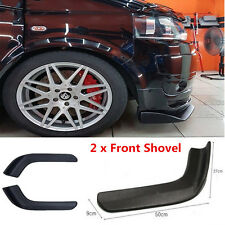 Pair Auto Modified Front Shovel ABS Bumper Spoiler Twist Scratch Resistant Wing