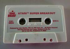 Atari Super Breakout Cassette Tape Only KSC 88944 1982