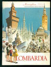 LOMBARDIA MERAVIGLIOSA ITALIA ARISTEA ENCICLOPEDIA DELLE REGIONI