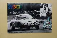 Herbert LINGE (1928) deutscher Rennfahrer