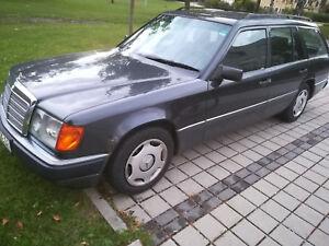 MERCEDES 250 DIESEL W124 KOMBI AUTOMATIK,  86PS/63KW!  RARITÄT!