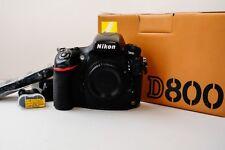 Nikon  D800 36.3MP Digital SLR Camera Full Frame - Black (Body Only)